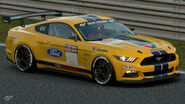 Ford Mustang Gr.4 Michelin Tire Sticker (Yellow)
