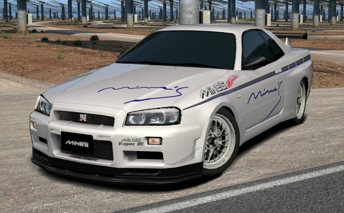 Mine's BNR34 SKYLINE GT-R N1 V • spec base '00
