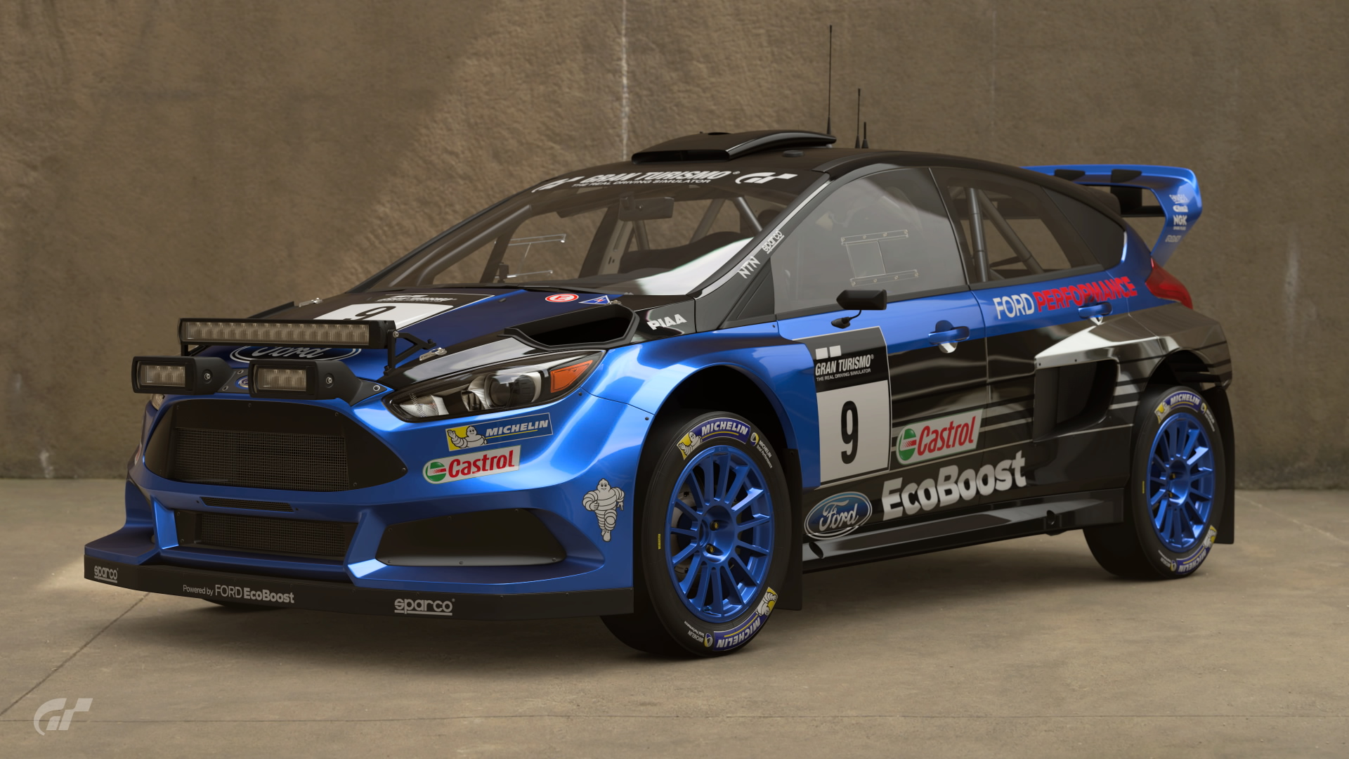 Ford Focus Gr.B Rally Car