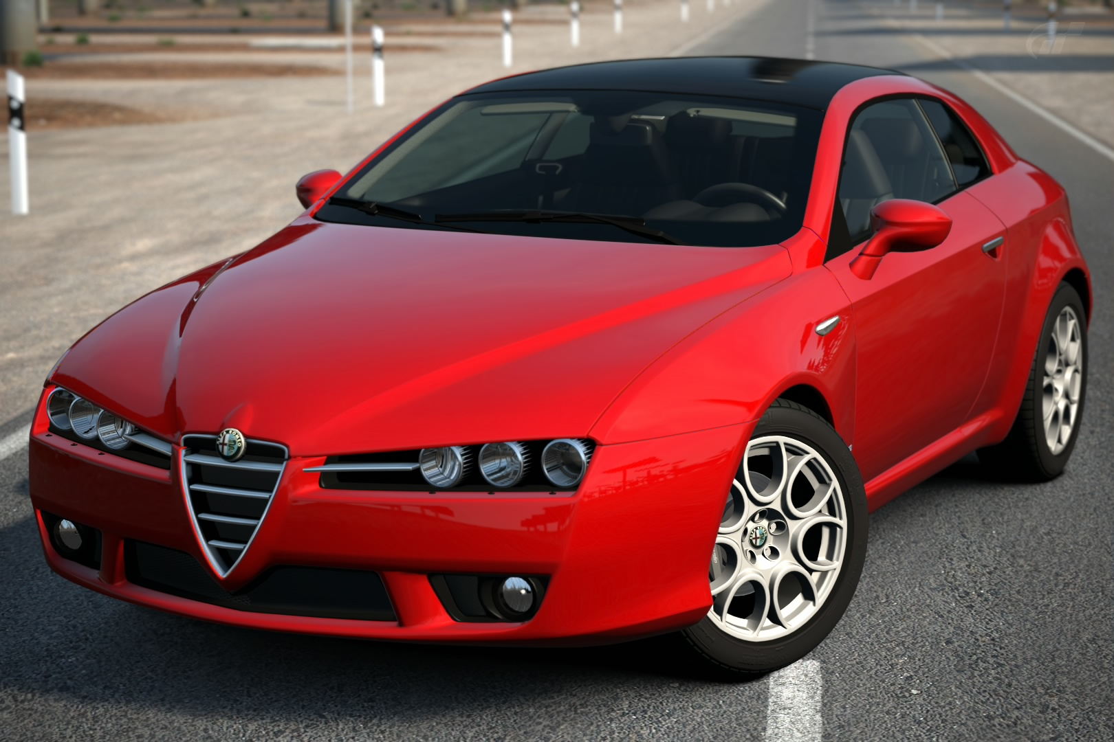 Alfa Romeo Brera Sky Window 3.2 JTS Q4 '06