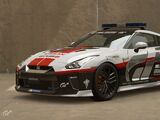 Nissan GT-R Safety Car