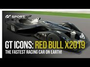 Gran Turismo Icons- Red Bull X2019-2