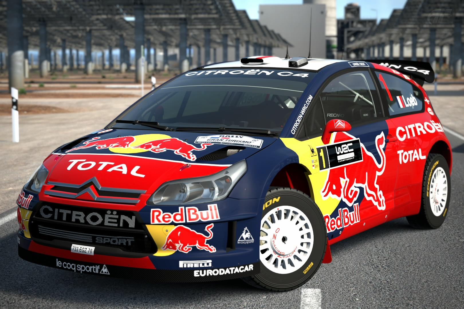Citroën C4 WRC '08