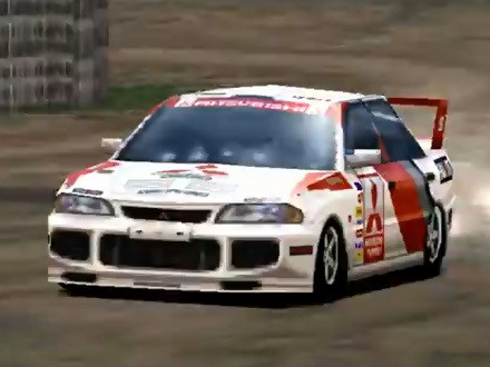 Mitsubishi Lancer Evolution III Rally Car