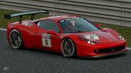 Ferrari 458 Italia Gr.4 Michelin Tire Sticker (Red)