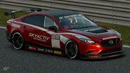 Mazda Atenza Gr.4 Michelin Tire Sticker (Red)