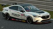 Mazda Atenza Gr.4 Michelin Tire Sticker (White)