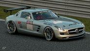 Mercedes-Benz SLS AMG Gr.4 Michelin Tire Sticker (Silver)