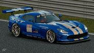 Dodge Viper Gr.4 Michelin Tire Sticker (Blue)