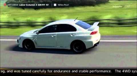 Mitsubishi Lancer Evolution X GSR Premium Package '07