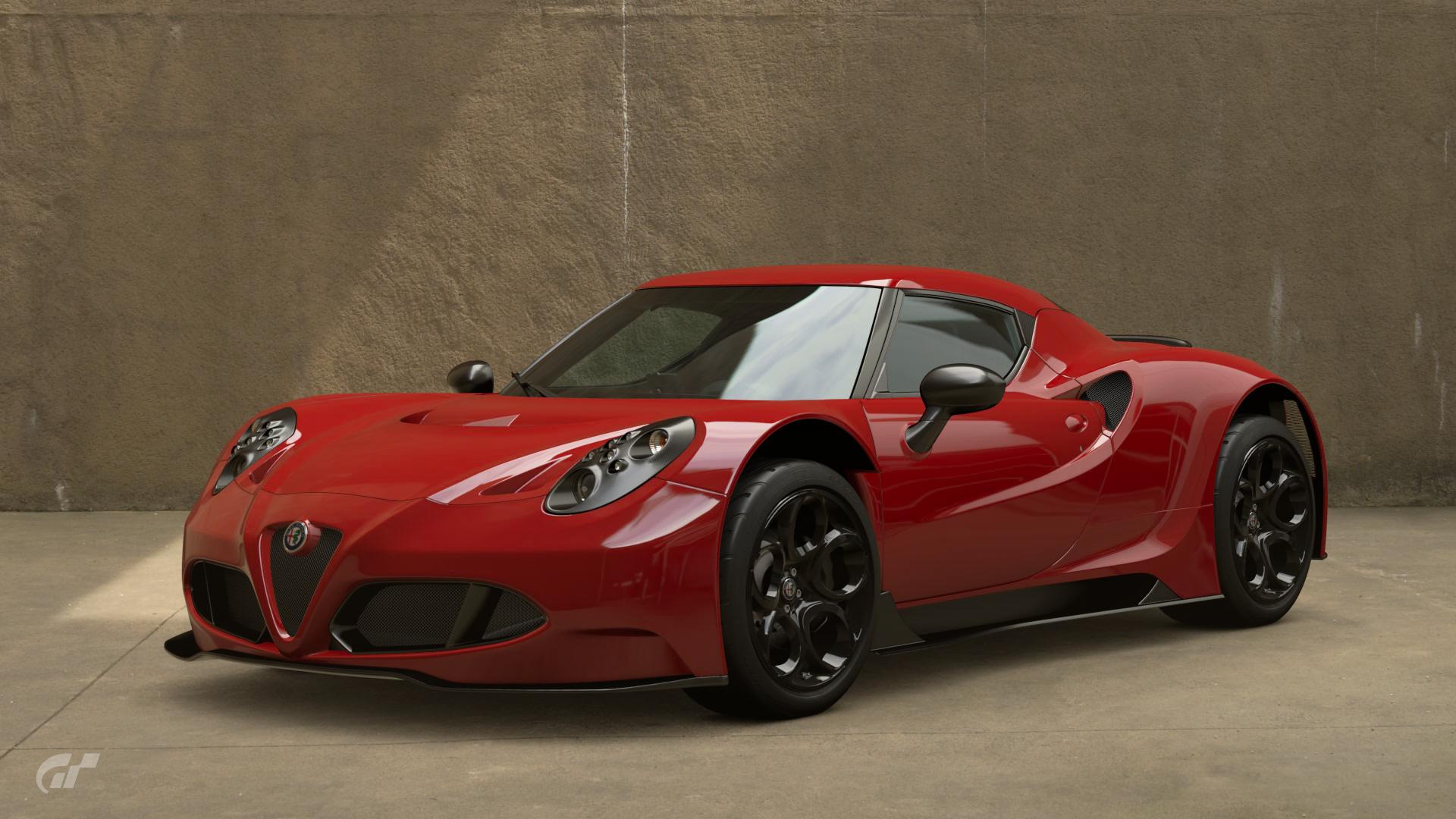 Alfa Romeo 4c Gr 3 Road Car Gran Turismo Wiki Fandom