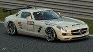 Mercedes-Benz SLS AMG Gr.4 Michelin Tire Sticker (White)