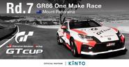 GR86 TGR GT Cup Round 7 promo