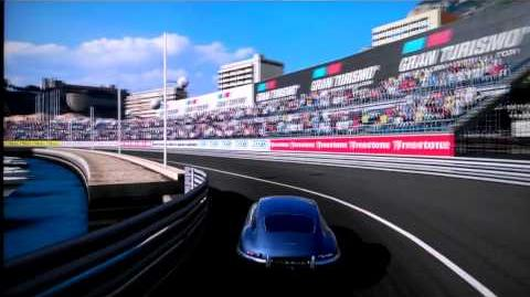 Gran Turismo 5 Standard Car Jaguar E-type Coupe'61 Cockpit view
