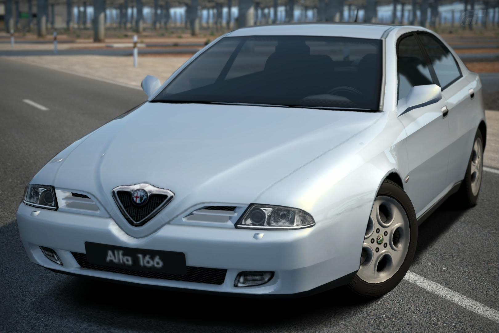 Alfa Romeo 166 2.5 V6 24V Sportronic '98