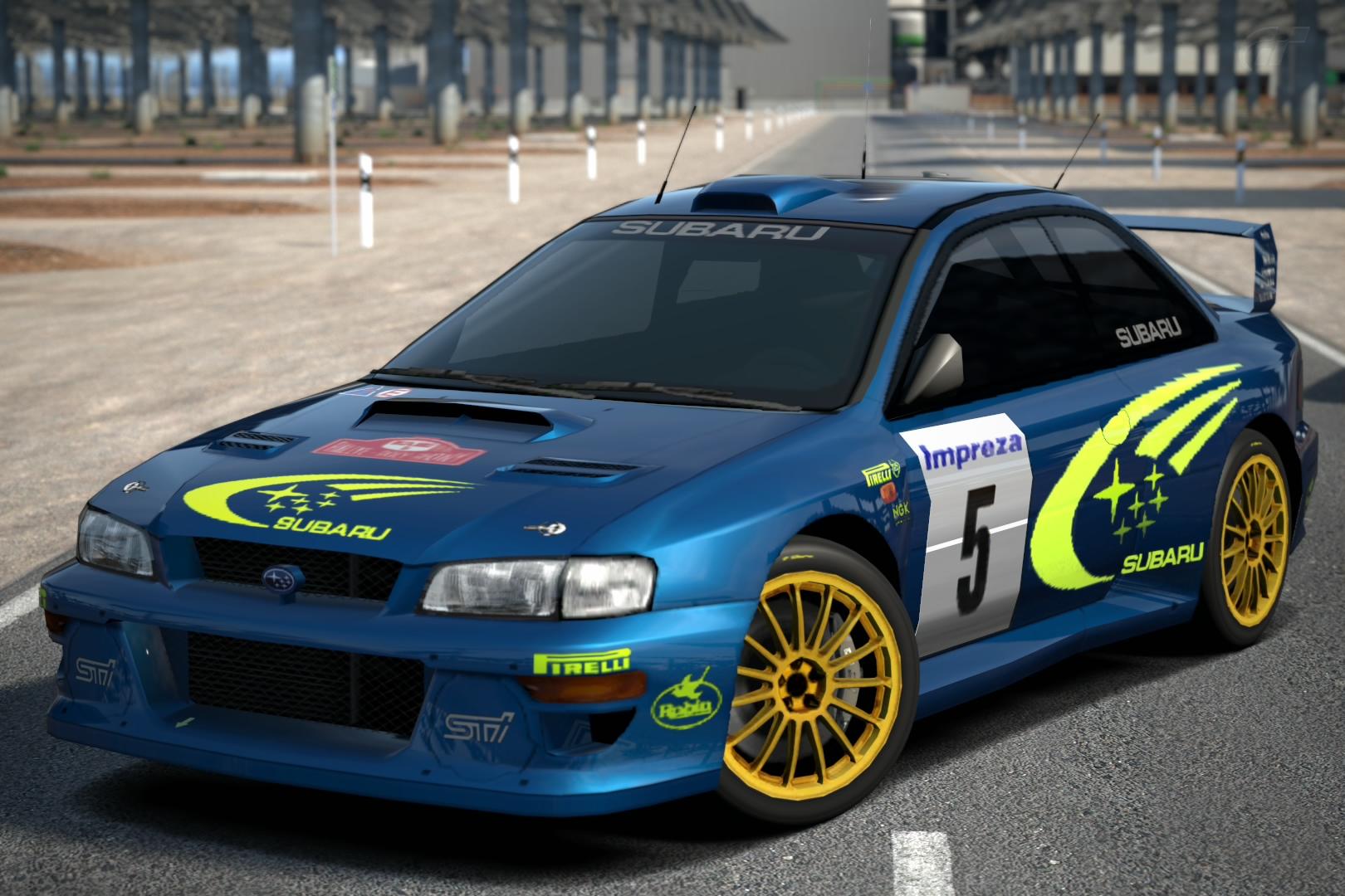 Subaru Impreza Rally Car 99 Gran Turismo Wiki Fandom