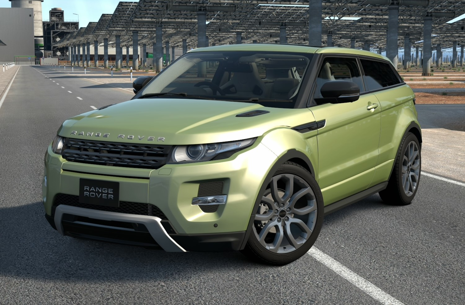 Land Rover Range Rover Evoque Coupe Dynamic '13