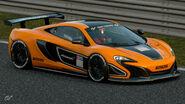 McLaren 650S Gr.4 Michelin Tire Sticker (Bright Orange)