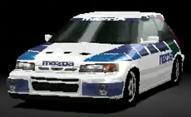 Mazda Familia Rally Car