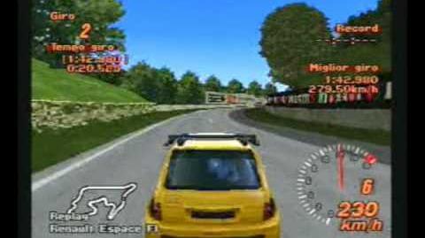 Gran Turismo 2 - Renault Espace F1