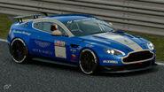 Aston Martin Vantage Gr.4 Michelin Tire Sticker (Blue-Silver)