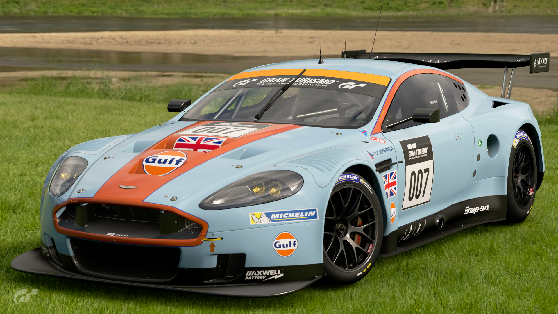 Aston Martin Dbr9 Gt1 10 Gran Turismo Wiki Fandom