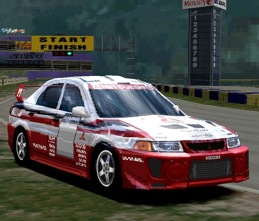 Mitsubishi Lancer Evolution V Rally Car '98
