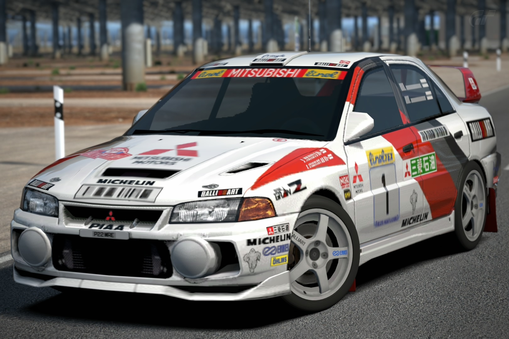 Mitsubishi Lancer Evolution IV Rally Car '97