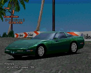 Chevrolet Corvette Coupe (C4) '96