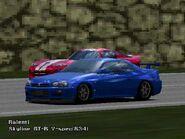 1999 Nissan Skyline GT-R V-spec (R34)