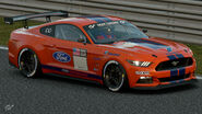 Ford Mustang Gr.4 Michelin Tire Sticker (Orange)