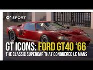 Gran Turismo Icons- Ford GT 40 '66 - A Le Mans Legend-2
