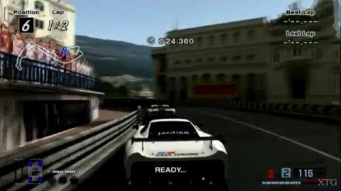Gran Turismo 4 - Jaguar XJ220 LM Race Car HD PS2 Gameplay