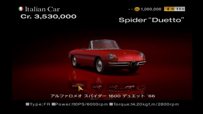 Alfa Romeo Spider 1600 Duetto '66