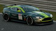 Aston Martin V8 Vantage Gr.4 Michelin Tire Sticker (Dark Green-Lime Green)