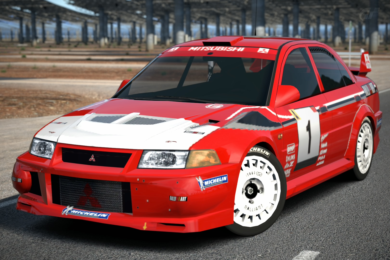 Mitsubishi Lancer Evolution VI Rally Car '99