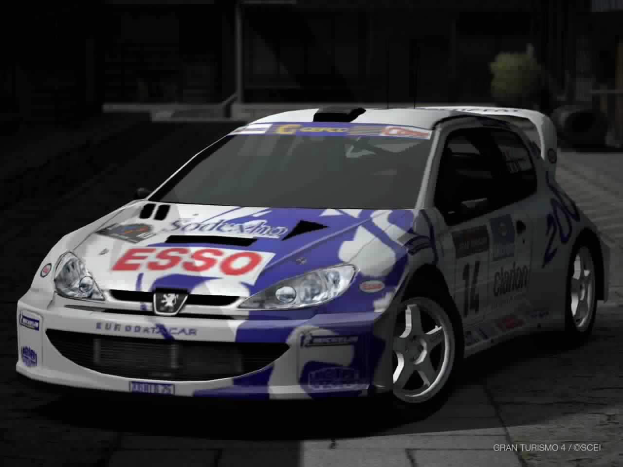 Peugeot 206 Rally Car 99 Gran Turismo Wiki Fandom