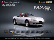 Mazda MX-5 1600 NR-A (NB, J) '04