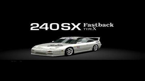 Gran Turismo 2 - Nissan 240SX Fastback Type X HD Gameplay