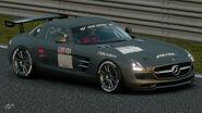 Mercedes-Benz SLS AMG Gr.4 Michelin Tire Sticker (Gray)