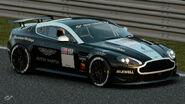 Aston Martin Vantage Gr.4 Michelin Tire Sticker (Black-White)