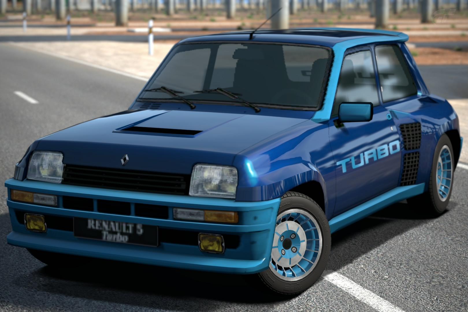 Renault 5 Turbo 80 Gran Turismo Wiki Fandom