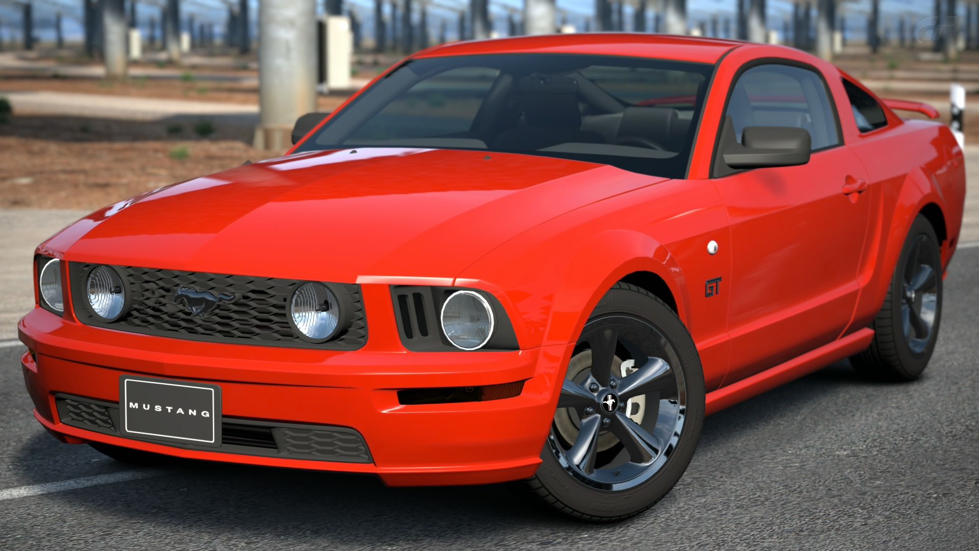 Ford Mustang V8 GT Coupe Premium '07