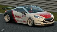 Peugeot RCZ Gr.4 Michelin Tire Sticker