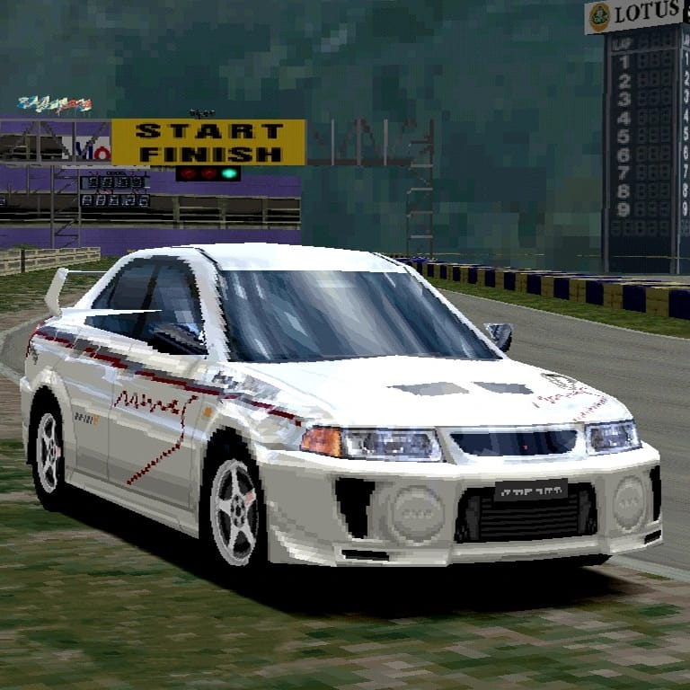 Mine's Lancer Evolution V