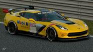 Chevrolet Corvette C7 Gr.4 Michelin Tire Sticker (Yellow)