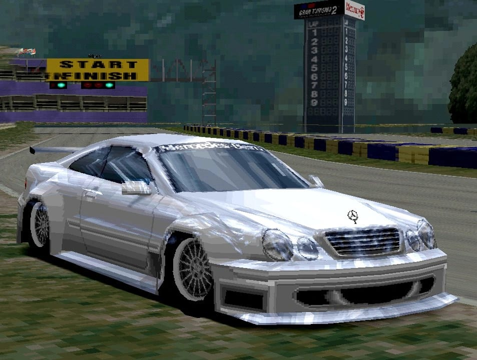 Mercedes-Benz CLK Race Car
