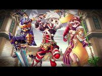 Grand Fantasia- Level 100 Expansion trailer