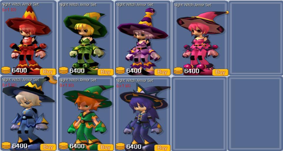 Night Witch Armor Set