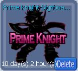 Prime Knight Signboard